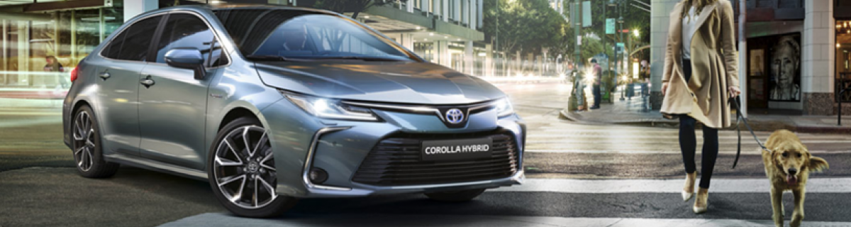 NEW TOYOTA COROLLA SEDAN 2019